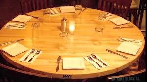 john boos dining table tops butcher block co youtube