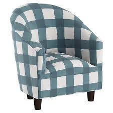 Gingham Armchair Accent Chairs Living Room Furniture One Kings Lane