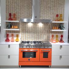colorful kitchen ranges
