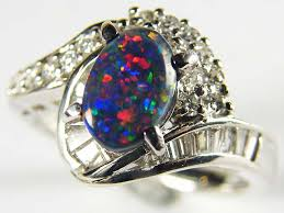 opal rings jewelry images Opal ring platinum ring 16 diamonds sco 1236 jpg