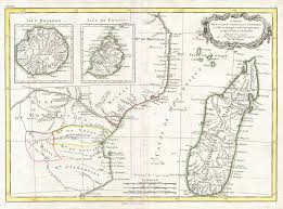 Mozambique Map File 1770 Bonne Map Of East Africa Madagascar Isle Bourbon And