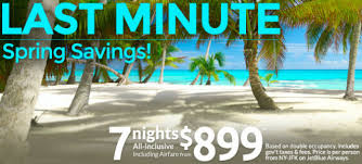 apple vacations last minute deals for caribbean mexico bahamas