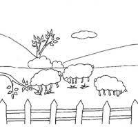 dessins de paysages