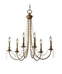 Murray Feiss Bathroom Lighting by Murray Feiss F2712 6 Aura 27 Inch Wide 6 Light Chandelier