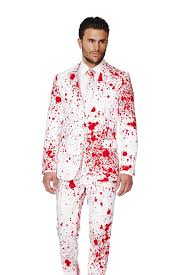 the american psycho blood splatter halloween suit by opposuits pre o
