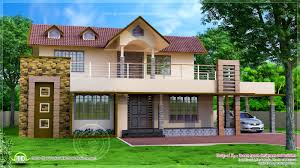 Two Story Small House Plans Bedroom Interesting Two Story Small House Terrace And Green Roof