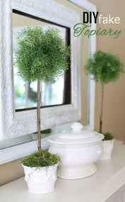 Topiary Trees Artificial Cheap - how to make a fake topiary in my own style