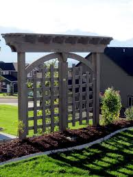 diy trellis arbor arbors and trellises timber kits western timber frame