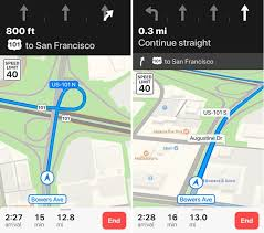 apple maps apple maps adds lane guidance in south africa switzerland and austria
