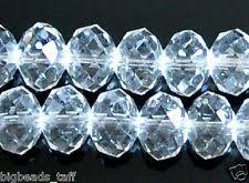 crystal u0026 cut glass craft beads ebay