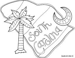 gamecock coloring pages 28 south carolina coloring pages south carolina state outline
