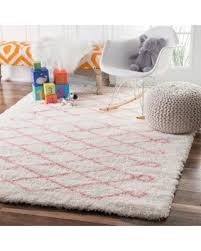 Pink And White Rug Spooktacular Savings Are Here 25 Off Nuloom Soft And Plush