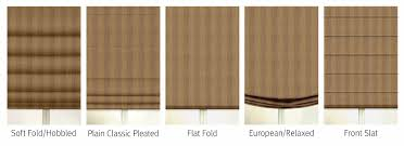 Roman Shades Over Wood Blinds Premium Roman Shades
