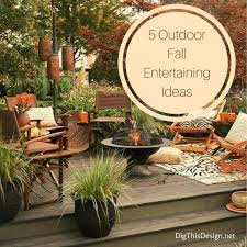 fall entertaining cozy outdoor gatherings dig this design