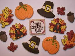 82 best thanksgiving images on decorated cookies