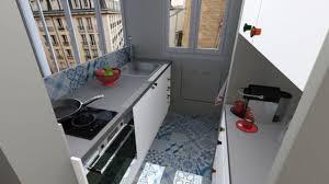 amenagement cuisine rectangulaire cuisine fonctionnelle aménagement conseils plans et