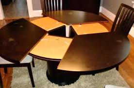 Ikea White Pedestal Table Round Extendable Dining Table Pedestal U2013 Mitventures Co