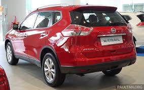 nissan red nissan x trail u2013 now available in flaming red for cny image 432834