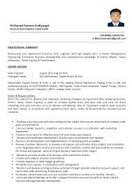 resume template sle electrician quote sales engineer resumes resume template