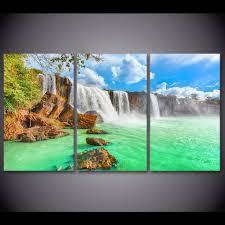 Home Decor Waterfalls by Online Get Cheap Natural Waterfalls Print Aliexpress Com
