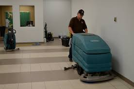services commercial waxed floor maintenance in out cleaning