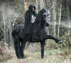 halloween horse we are dancing with the demons in our minds matilde brandt