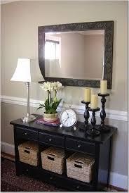 black entry hall table pinterest blessed187 house pinterest foyers living rooms