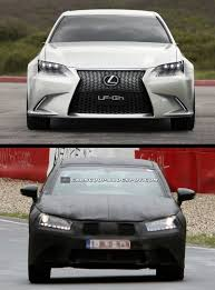 the new lexus lf gh first spy shots of 2013 lexus gs sedan