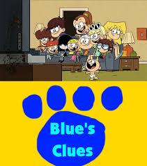 the loud kids watching blue u0027s clues by mikeeddyadmirer89 on deviantart