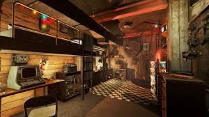 fallout 4 build showcase basement living youtube