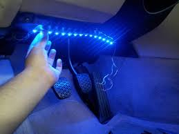 how to install interior led lights to a car method 1 diy video