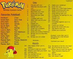 Pokemon Birthday Meme - pokemon birthday scenario game by yukihitomi on deviantart