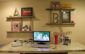 Home Office Wall by Home Office Update And A Giveaway Winner Onekriegerchick
