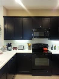 Black Cabinet Kitchens by Kitchen Before And After Kitchens Black Appliances And Grey