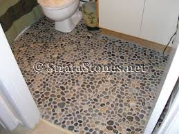 bathroom pebble floor tiles agreeable interior design ideas