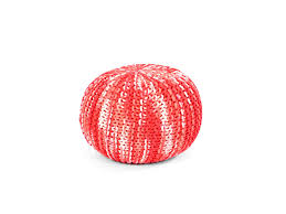 furniture multi colored hand knitted pouf for home accessories