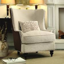 Wingback Accent Chairs Youll Love Wayfair - Wing chairs for living room