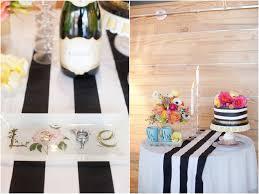 black white striped table runner black and white stripe table runner carly s shower and