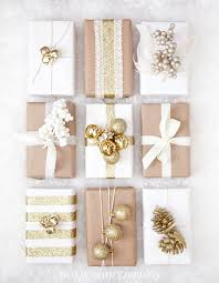 unique christmas wrapping paper 10 clever unique ways to wrap gifts with brown kraft paper curbly