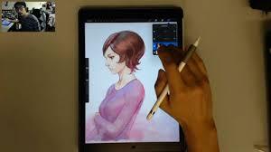 artgerm u0027s artist review of ipad pro and apple pencil parka blogs
