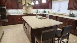 granite countertop honey cabinets butter microwave granite