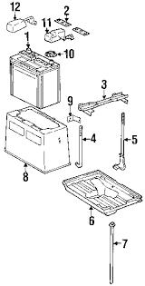 lexus gs300 parts diagram parts com lexus interst gr24 batt partnumber 00544mf240575