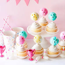 cupcake toppers bowling cupcake toppers craftgawker
