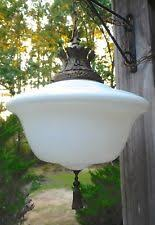 Schoolhouse Pendant Lights Antique Schoolhouse Light Ebay