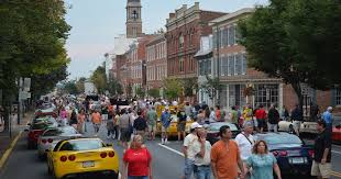 corvettes of carlisle vues magazine downtown carlisle comes alive with