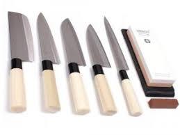 couteau de cuisine japonais objet de la semaine set de couteaux de cuisine japonais par nippon