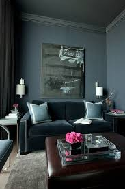dark walls color of the month cerulean blue cerulean interiors and living