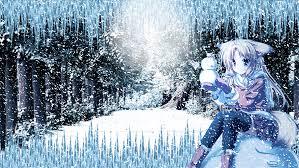 winter anime wallpaper hd snown anime girl wallpaper hd by ponydesign0 on deviantart