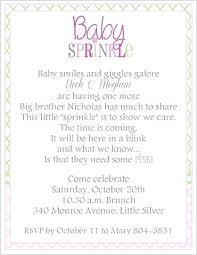 sprinkle baby shower sprinkle baby shower invitations wording career catalog