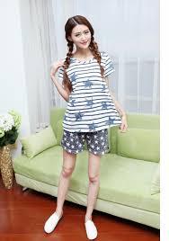 maternity nightwear summer cotton maternity sleepwear cheap pregnancy pajamas